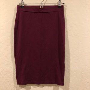 ✨3 for $10✨ Burgundy Pencil Skirt